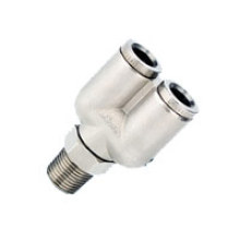 Mpx Pneumatic Metal Push-In Fittings
