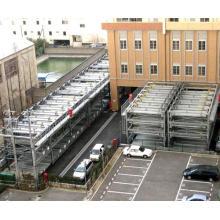 Sistema de estacionamiento de elevación y desplazamiento de múltiples secciones tipo Psh