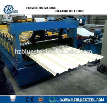 Corrugated And IBR Galvanized Roof Sheets Roll Forming Machine For Sale
