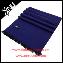 2015 nouveau produit soie brossé écharpe solide personnalisé