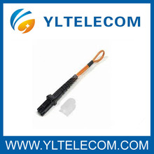 MTRJ Fiber Optic Jumper Loopback , Customized MTRJ Patch Cord Cable For Networking