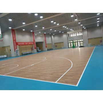 Inomhus Vinyl Basketball Floor