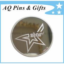 999 moedas de prata esterlina