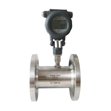 Turbine flowmeter with screw connection low cost flow meter