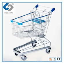 100L Supermarket Shopping Trolleys with German Style