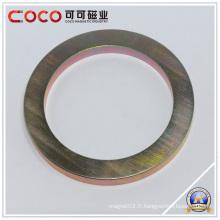 Bague aimant avec grand trou, aimants permanents, aimant de néodyme Wind Turbine N35, N38, N40, N42, N45, N48, N50, N52