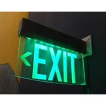 Inscrivez-vous signe de sortie de LED, signe de sortie d'urgence, signe de sortie, signe de sortie d'urgence