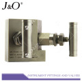 Gauges Remote Control Stainless Steel Manifold