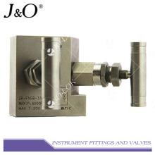 Jauges d'instrument en acier inoxydable Manifold de vanne de commande à distance