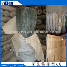 Anping 6 х 6 электро-оцинкованная квадратная плетеная проволочная сетка завод