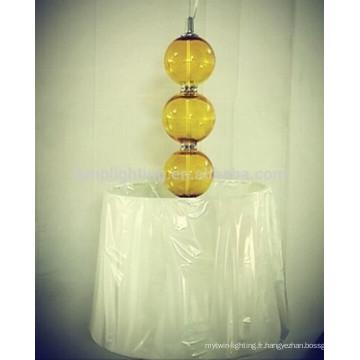 Nouvelle lampe à suspension décorative en verre décoratif