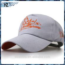 Casquette de baseball et logos de custome 5panel fabriqués en Chine