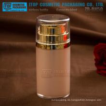 ZB-BN-Serie 30ml 50ml 80ml Zylinder Form große Acryl Vakuum airless Pumpflasche