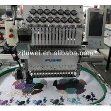 T-shirt Cap bordado máquina precios (FW1201)