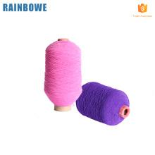 Fil de spandex élastique en caoutchouc coloré haute ténacité