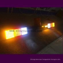 Hot 12V 24V high quality waterproof flashing strobe warning used police emergency LED roof light bar