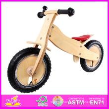 2014 nouveau et populaire enfants en bois bicyclette, Hot vente enfants en bois vélo, bébé équilibre en bois vélo (W16C054)