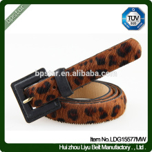 Leather Women Belt Leopard Thin for Women Female Dress Jeans Casual Ceinture Cintos Designer Straps