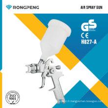 Rongpeng H827-un pistolet de revêtement de pistolet de pulvérisation de basse pression de volume élevé de HVLP