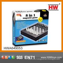 Juego de ajedrez antiguo magnético de alta calidad para niños y adultos