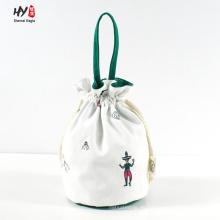 Einfach tragbare Canvas-Kordelzugtasche