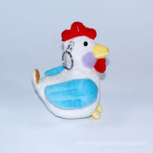 Plush Small Farm Cock Key Ring