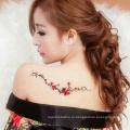 Водонепроницаемый Обычай Татуировки Сексуальное Тело Временные Хна Татуировки Наклейки Временные Татуировки