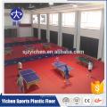 Belle production de plancher de sport en PVC