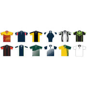 Man Polo Shirt Coolmax Fabric Italy Ink Sublimated Sportswear With Logos