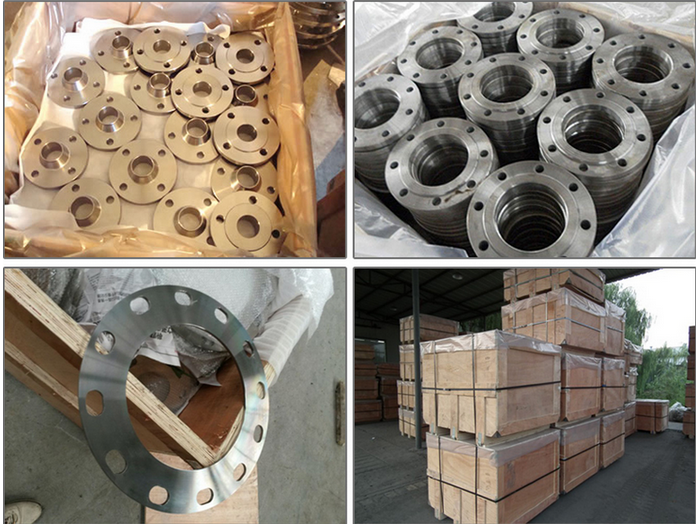 steel thread flange