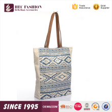 HEC Super September Fancy Trend Blue Designer Woman Daily Shopping Canvas Lunch Tote Bag