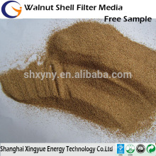walnut shell filter media for wastewater/walnut shell polishing media