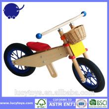 Benutzerdefinierte hölzerne Kinder Fahrrad