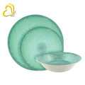 2018 new design restaurant used melamine dinnerware set