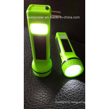 Multifunction Rechargeable LED Solar Flashlight (SUN01)