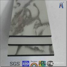 Hoja de aluminio decorativo de la superficie del espejo de oro
