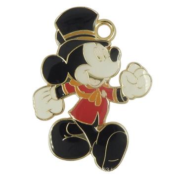 Metal Micky Mouse Charms Hang Tag