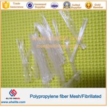 La fibra de PP se utiliza principalmente en la pintura de cemento