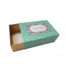Caja de jabón hecha a mano barata del estilo del cajón con la bandeja