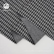 Tecido Jacquard TC com spandex para roupas de outono