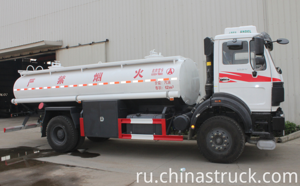 Beiben mobile fuel station truck