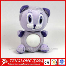 hot popular small animal night LED plush light toys