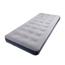 light gray single camping mattress inflatable mattress