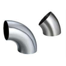 304/316L Sanitary Stainless Steel Short Welded Elbow