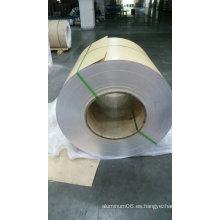 Placa de aluminio en relieve con papel Kraft o Polysurlyn