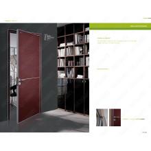 Porta da cor vermelha, porta branca romena, madeira branca romena, portas da construção segura para a venda