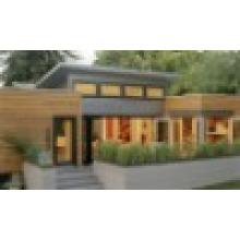 Maison en acier légère préfabriquée moderne