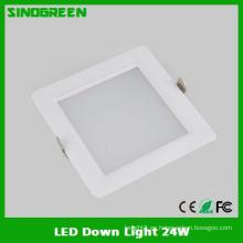 Alta calidad caliente LED abajo de la luz 24W