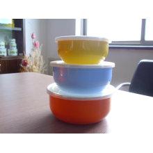 3шт продвижение эмалированную посуду с красочными