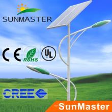 Beste verkaufende 60W Solar Tracking Street Beleuchtung mit 8m Pole